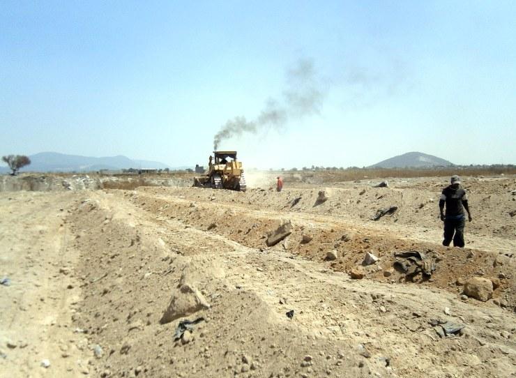 Construcción de un nuevo Fraccionamiento. Foto: Diario Vía Libre