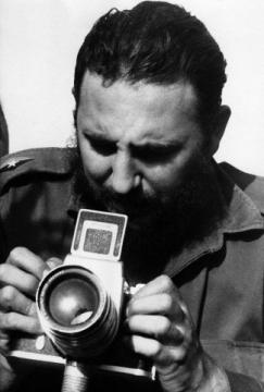 Historical Cuba - Fidel Castro takes pictures