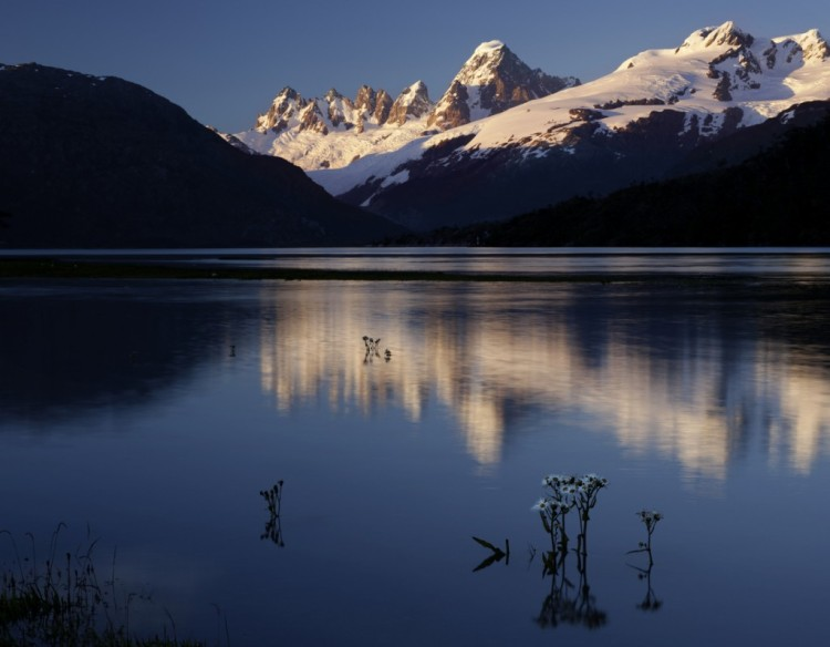 Vista del Río Pascua, patagonia chilena. Foto: Tierra de vientos