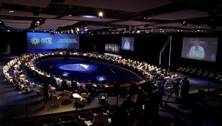 Aspecto de la Cumbre de la CELAC en La Habana. (FOTO: Agencias)