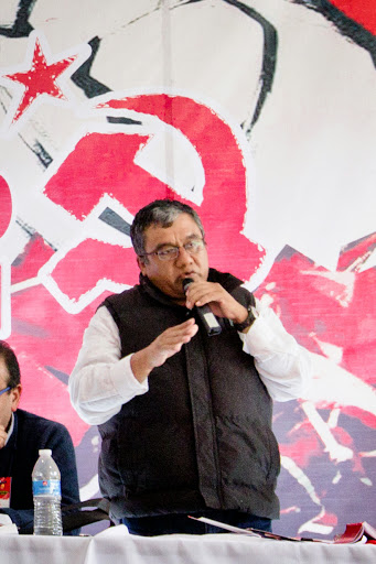 Gustavo Adolfo López Ortega. Comunista bajo amenaza. FOTO: PCM