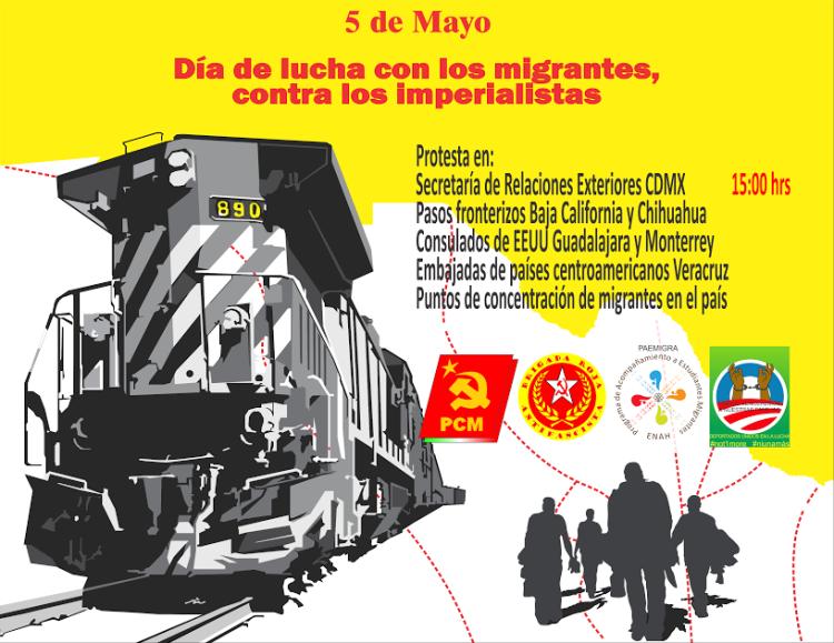 PCM_cartel_evento_5_de_mayo_migrantes_alberto_buitre